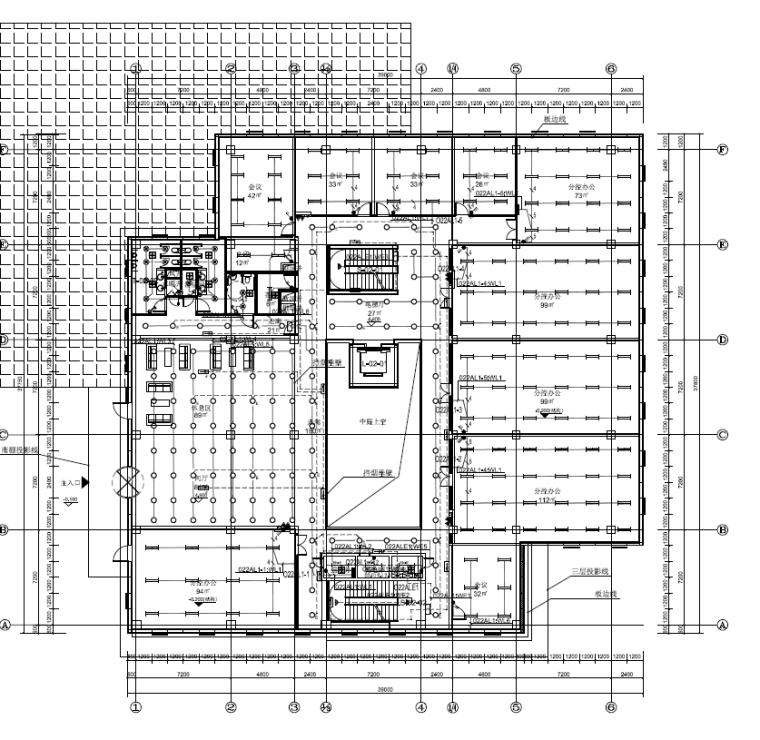 ups电气计算资料下载-湖南计算数据中心及配套建筑强弱电施工图