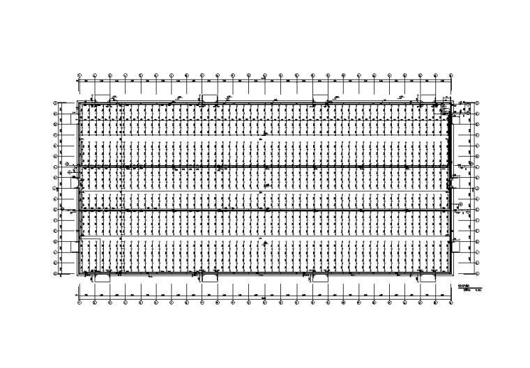 排水平面图