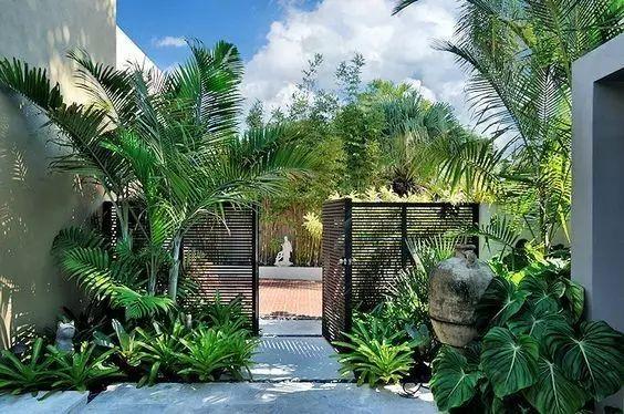 优美的庭院入口设计,也是一种诗意!
