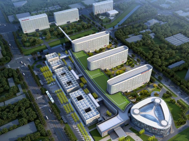 创新杯BIM大型医院迁建工程(56页)