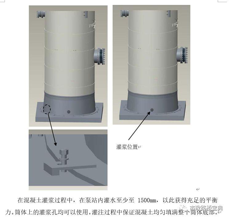 一体化污水泵站施工方案_8