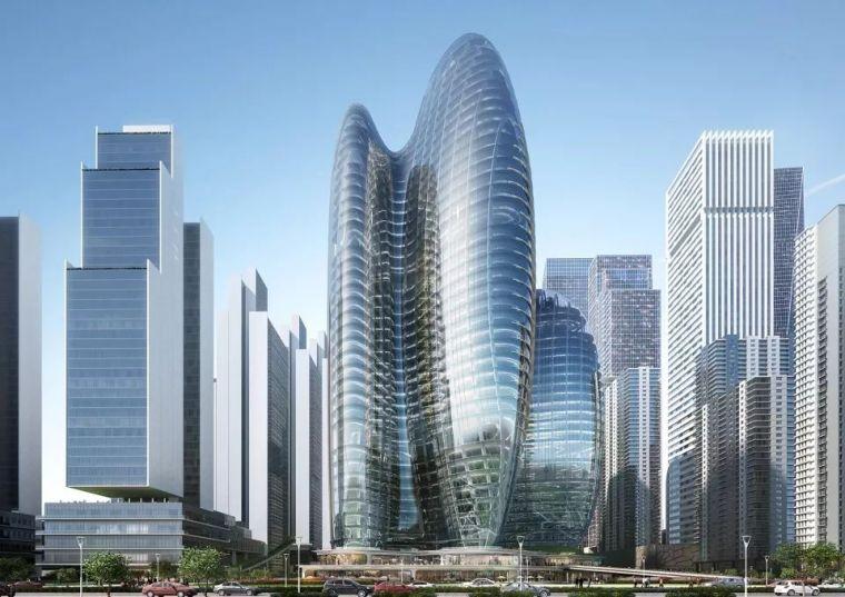 建筑新开工资料下载-扎哈事务所 OPPO公司深圳新总部即将动工