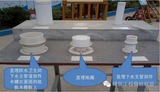 止水节预埋套管工艺解决卫生间管道根部渗漏