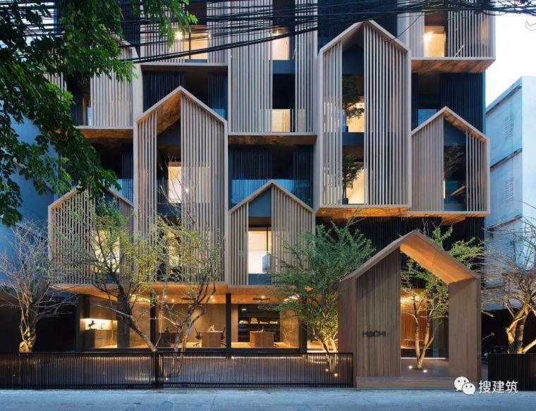 建筑立面设计原则+处理手法!!_46