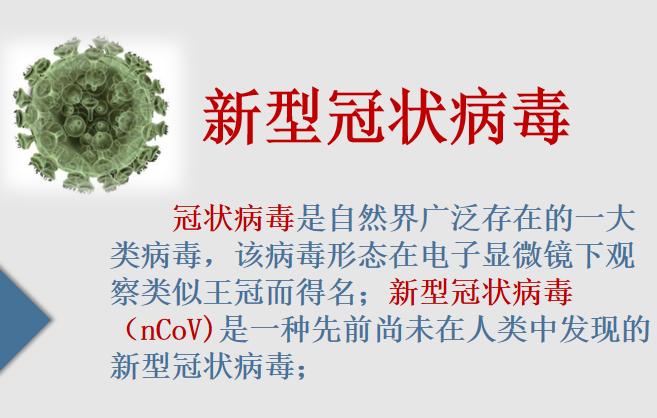 新型冠状病毒肺炎护理手册资料下载-防控新型冠状病毒感染知识手册(21页)