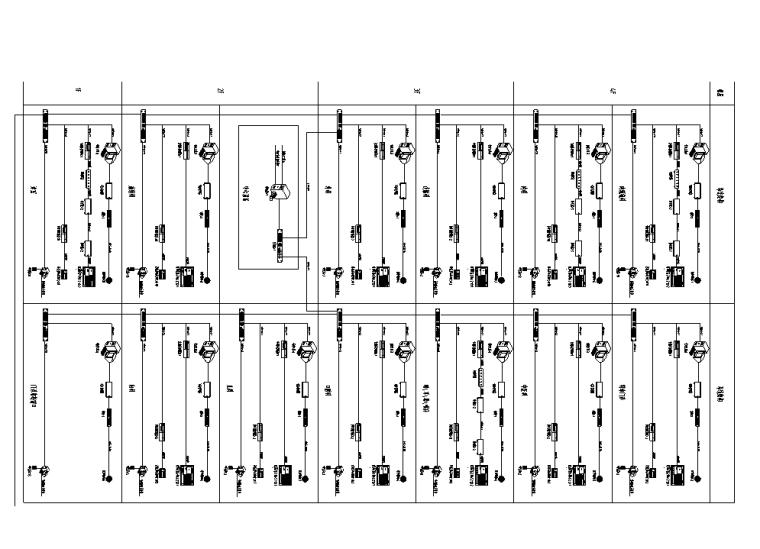 医院改扩建弱电智能化系统施工图(2018)