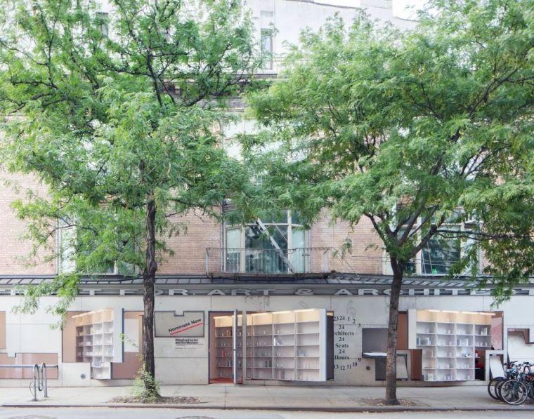 Storefront艺术与建筑图书馆_1