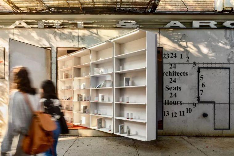 Storefront艺术与建筑图书馆_3