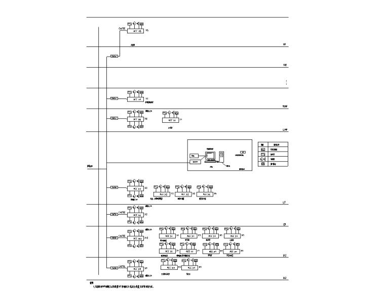 门禁系统图(酒店)
