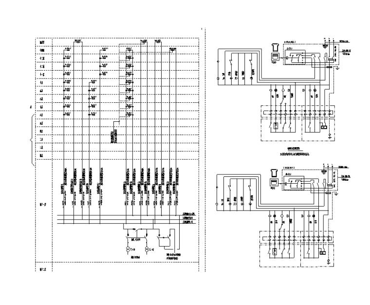套间电气控制原理图