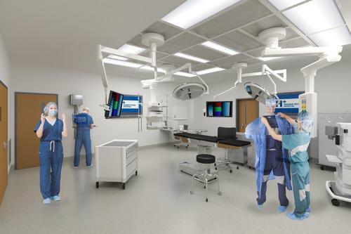 人民医院项目bim图纸及工程量清单