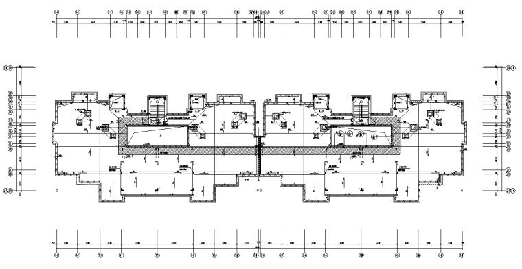 湖北荆州住宅小区及配套底商电气施工图