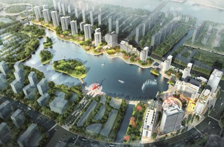 infraworks竖向规划资料下载-浙江现代风格综合城市规划建筑方案文本