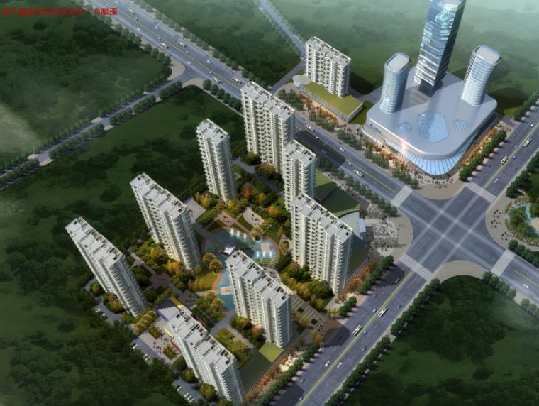 河南某乐福城市综合体规划建筑设计方案文本