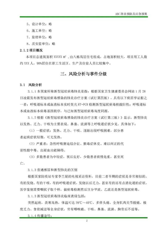 建筑工地节后复工疫情防控专项资料合集_15