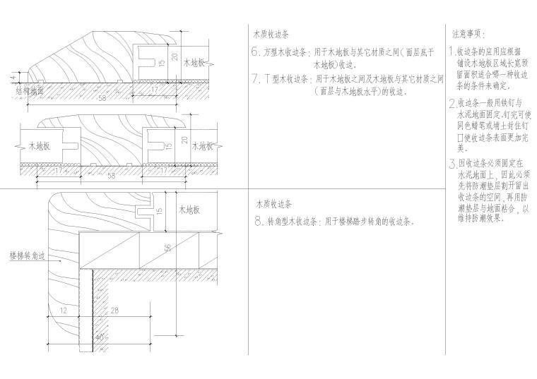 木地板(收边构件-木质)