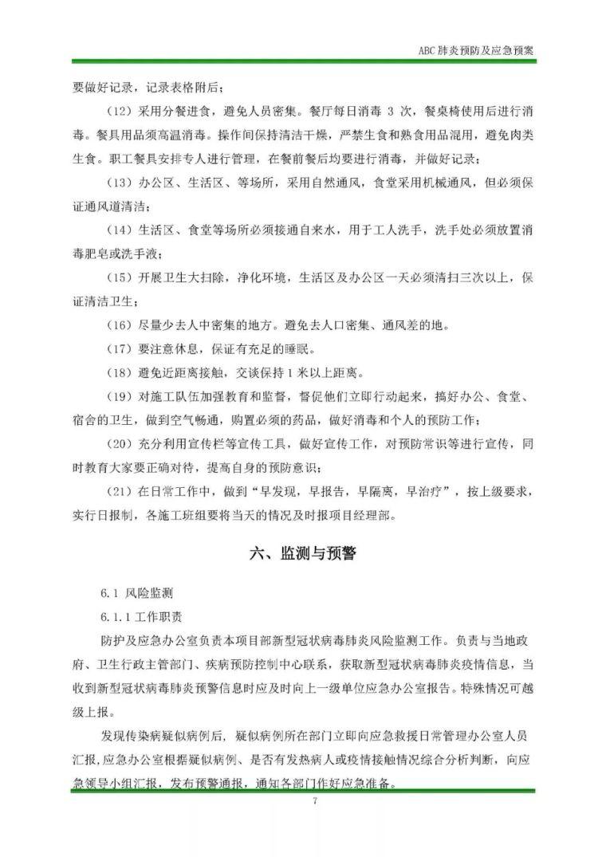 建筑工地节后复工疫情防控专项资料合集_20