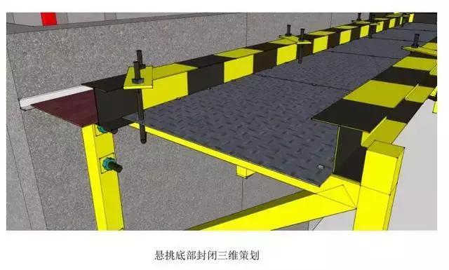 18个建筑施工悬挑脚手架优化做法,脚手架搭设出来后令人耳目一新
