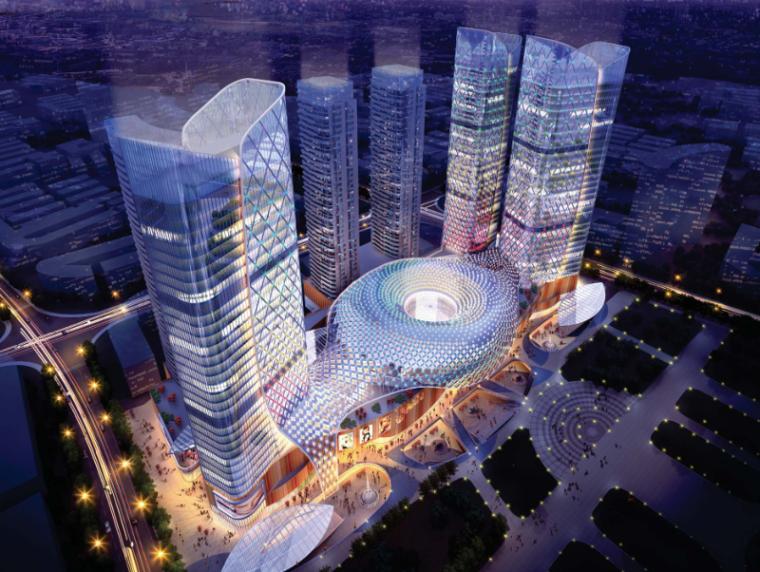 江西某国际城市综合体项目规划概念设计文本