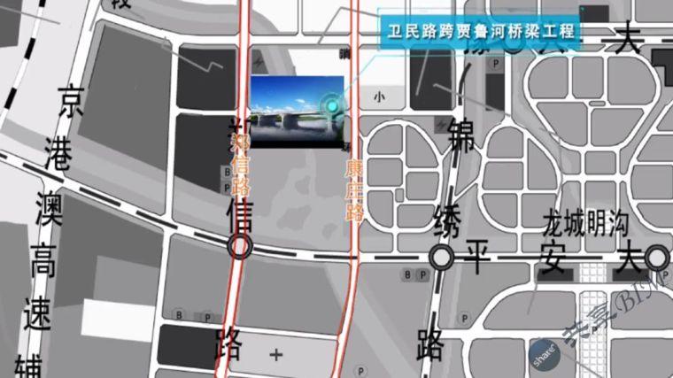 卫民路跨贾鲁河桥梁工程BIM技术应用汇报
