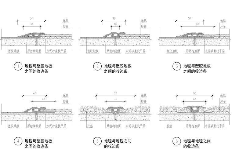 设计院标准图集-收边条节点