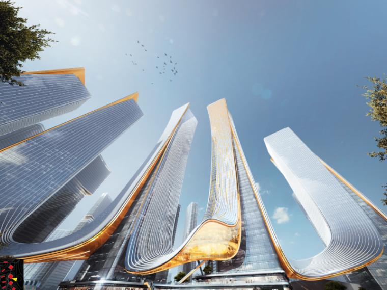 武汉盛世滨江城市综合体规划设计方案文本