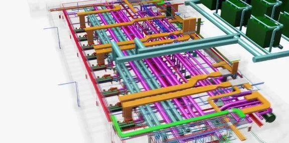 看看知名企业如何应用机电BIM_8