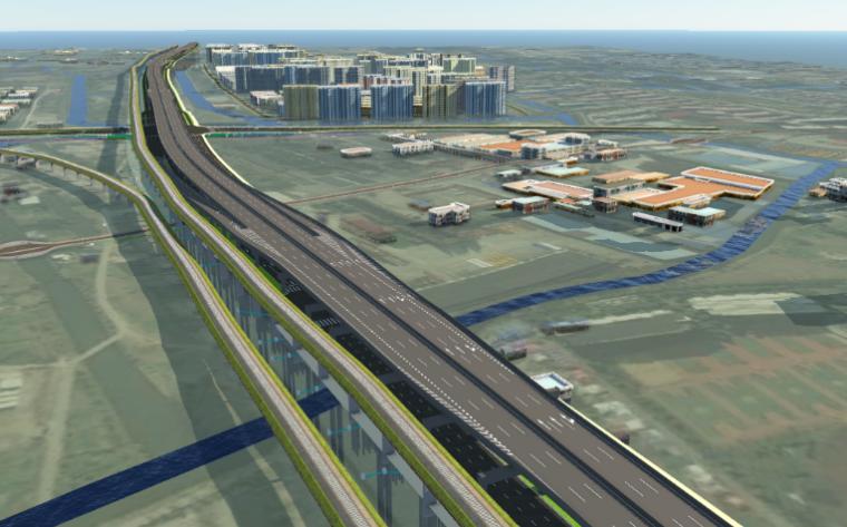 上海市高速公路先期实施段新建工程BIM应用