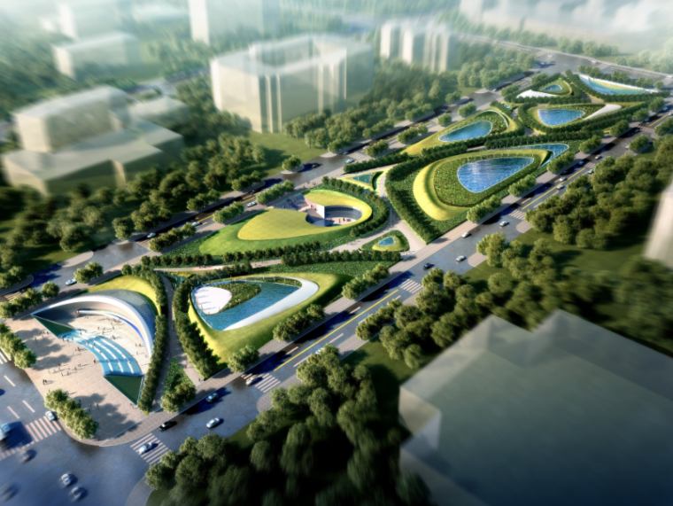 南昌红谷滩地下商业概念规划设计方案文本
