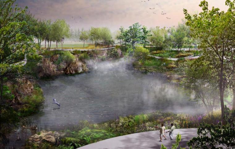 多萝西娅迪克斯公园景观规划方案(英文版)