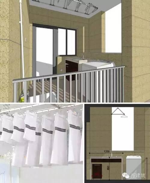万科养老住宅的细节(户型+储藏间+厨房)_40
