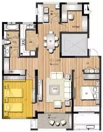 万科养老住宅的细节(户型+储藏间+厨房)_30