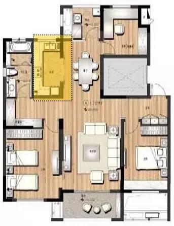 万科养老住宅的细节(户型+储藏间+厨房)_25
