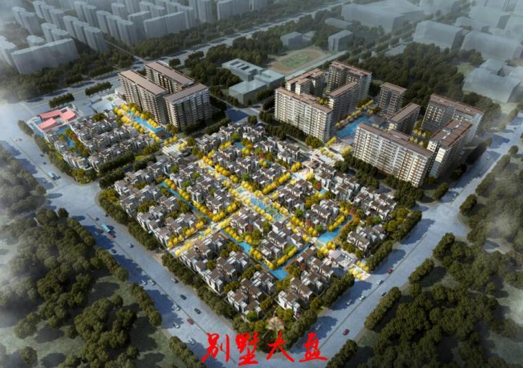 [四川]高端别墅+高层住宅+合院建筑规划设计