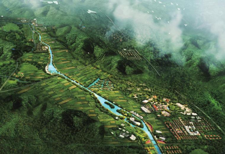 森林公园区域总体规划及大任河湿地公园规划
