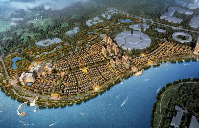 [山东]新古典国际湾区大宅建筑方案规划