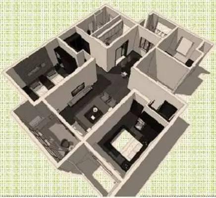 万科养老住宅的细节(户型+储藏间+厨房)_3