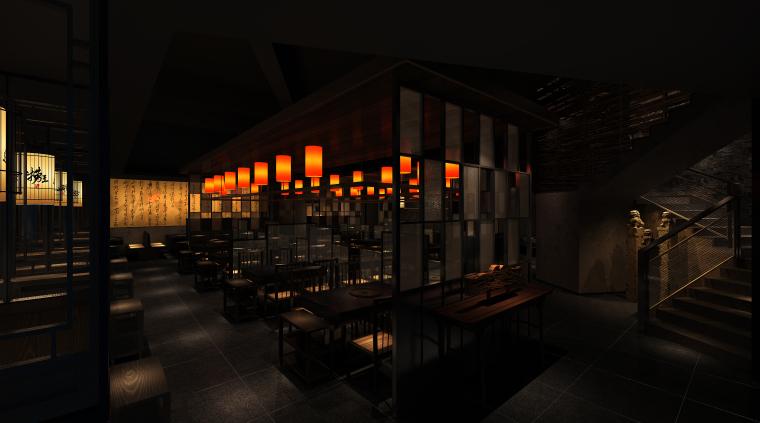 餐厅精装修工程施工图纸及工程量清单