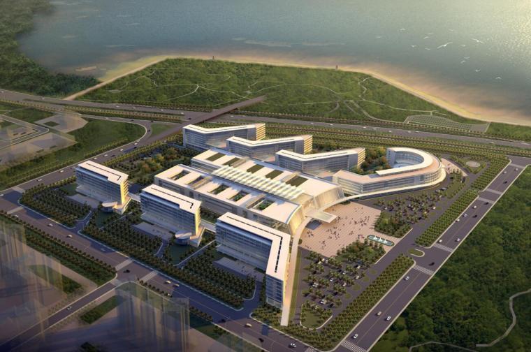 [广东]深圳市滨海医院建设工程方案设计