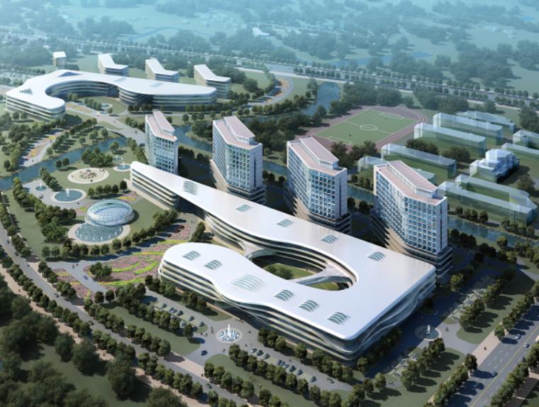 上海某肝胆外科医院建筑设计方案文本
