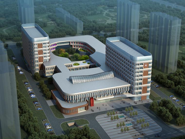 邹平妇幼保健院服务中心大楼设计方案文本
