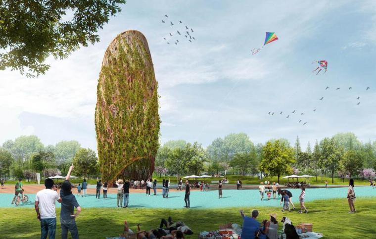[四川生态溪河公园景观概念方案设计