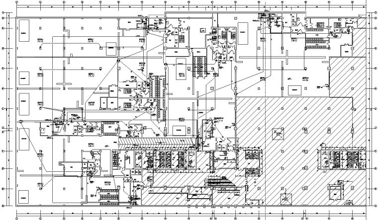 战时通讯及电力平面图