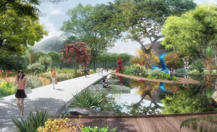 [云南]新海河滨河带状公园工程方案设计