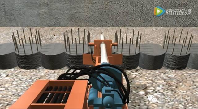 止水帷幕、支护桩施工全过程讲解_26
