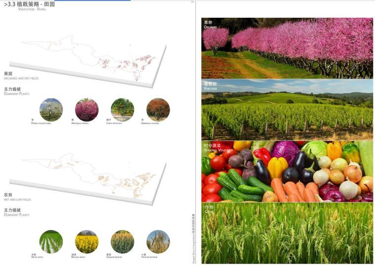 植栽策略 - 田园