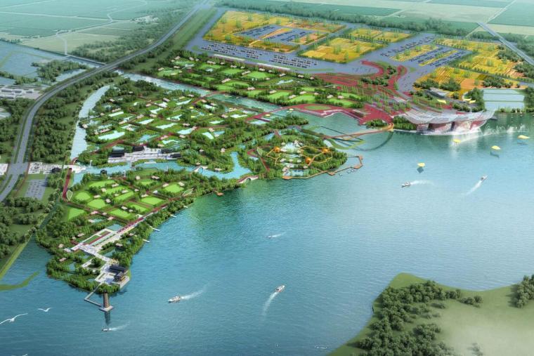 [湖北]博览会概念性景观规划方案文本设计