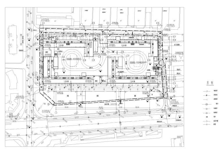 管线综合总平面图