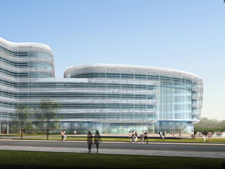 坪山新区某大型医院建设方案设计文本