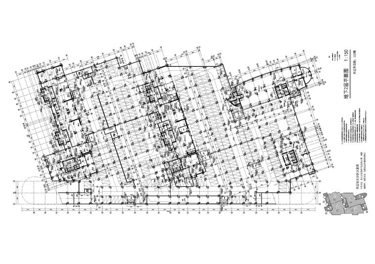 地下2层平面图